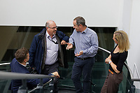 Pictured: Mark Lees (2nd L). Wednesday 29 May 2019<br /> Re: DVLA in Swansea, Wales, UK.