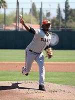 Jose Marte - San Francisco Giants 2019 spring training (Bill Mitchell)
