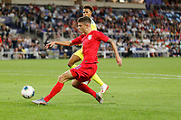 St. Paul, MN - Tuesday June 18, 2019: Christian Pulisic of the United States during a 2019 CONCACAF Gold Cup group D match between the United States and Guyana on June 18, 2019 at Allianz Field in Saint Paul, Minnesota.