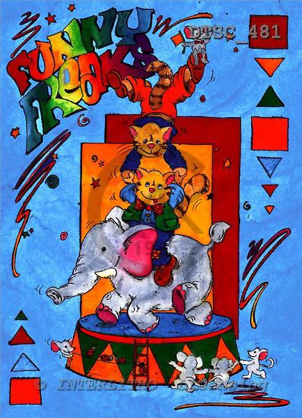 Hans, CUTE ANIMALS, paintings+++++,DTSC481,#AC# deutsch, illustrations, pinturas