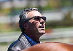 Trainer Tim Yakteen after Bench Points wins the 18th running of the Lazaro Barrera Stakes(GII) at Hollywood Park, Inglewood, CA
