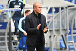 17.10.2020, xmeix, 1.Fussball Bundesliga,      TSG 1899 Hoffenheim - Borussia Dortmund, emspor. v.l.n.r, <br /> Hoffenheims Trainer Sebastian Hoeness (TSG 1899 Hoffenheim) beim Spiel in der Fussball Bundesliga, TSG 1899 Hoffenheim - Borussia Dortmund.<br /> <br /> Foto © PIX-Sportfotos *** Foto ist honorarpflichtig! *** Auf Anfrage in hoeherer Qualitaet/Aufloesung. Belegexemplar erbeten. Veroeffentlichung ausschliesslich fuer journalistisch-publizistische Zwecke. For editorial use only. DFL regulations prohibit any use of photographs as image sequences and/or quasi-video.