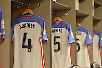 Santa Clara, CA - Friday June 03, 2016: United States locker room prior to a Copa America Centenario Group A match between United States (USA) and Colombia (COL) at Levi's Stadium.
