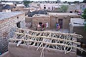 An over-view of Raneri village of Jodhpur district in Rajasthan, India. Photo: Sanjit Das/Panos