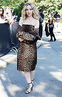 NEW YORK, NY- SEPTEMBER 10: Dove Cameron, seen at the NYFW S/S 2022 Michael Kors fashion show at Tavern On The Green in New York City on September 10, 2021. Credit: RW/MediaPunch<br /> CAP/MPI/RW<br /> ©RW/MPI/Capital Pictures
