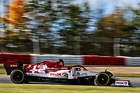 10th October 2020, Nuerburgring, Nuerburg, Germany; FIA Formula 1 Eifel Grand Prix, Qualifying sessions;  7 Kimi Raikkonen FIN, Alfa Romeo Racing ORLEN