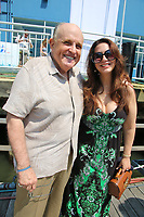 NEW YORK, NY- JUNE 6: Former NYC Mayor Rudulph Giuliani and his girlfriend Maria Ryan attend the Sail to Freedom NYC Celebrating 299 years of Hellenic Independence at the Chelsea Piers on Sunday June 6, 2021.  <br /> CAP/MPI98<br /> ©MPI98/Capital Pictures