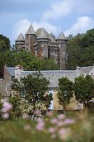 Europe/France/Auvergne/12/Aveyron/Le Bousquet: Le village et le Château