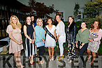 Rita Murphy from Gneeveguilla enjoying her hen party in the Ballygarry House Hotel on Saturday.<br /> L to r: Marion O'Keeffe, Marion McCarthy, Imelda O'Connor, Angie Kelliher, Rita and Aileen Murphy, Clare Griffin, Cara Treanor and Maria Fitzgerald.