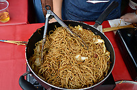 August 11 2012 - Montreal (Qc) Canada - Matsuri Japon Festival 11th edition.<br /> <br /> Matsuri Japon is a free event promoting Japanese culture to the general public. IN PHOTO : fried noodles