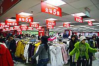 Loja de roupas em Pequim. China. 2007. Foto de Flávio Bacellar.