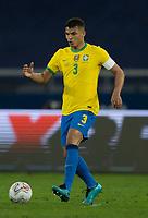 5th July 2021; Nilton Santos Stadium, Rio de Janeiro, Brazil; Copa America, Brazil versus Peru; Thiago Silva of Brazil