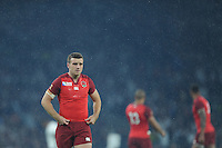 18 September 2015: George Ford of England during Match 1 of the Rugby World Cup 2015 between England and Fiji, Twickenham Stadium, London, England (Photo by Rob Munro/CSM)