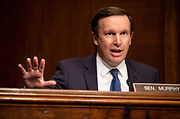"""United States Senator Chris Murphy (Democrat of Connecticut), speaks during the US Senate Health, Education, Labor, and Pensions Committee  hearing titled """"COVID-19: Going Back to School Safely"""" on Capitol Hill in Washington, DC on Thursday, June 4, 2020.<br /> Credit: Ting Shen / CNP/AdMedia"""
