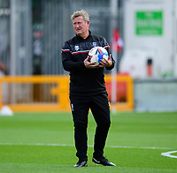 Lincoln City's assistant manager David Kerslake during the pre-match warm-up<br /> <br /> Photographer Andrew Vaughan/CameraSport<br /> <br /> The EFL Sky Bet League One - Saturday 12th September  2020 - Lincoln City v Oxford United - LNER Stadium - Lincoln<br /> <br /> World Copyright © 2020 CameraSport. All rights reserved. 43 Linden Ave. Countesthorpe. Leicester. England. LE8 5PG - Tel: +44 (0) 116 277 4147 - admin@camerasport.com - www.camerasport.com - Lincoln City v Oxford United