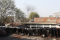 A leather tannery churns out more air pollution that causes problems for both the environment and residents' health.