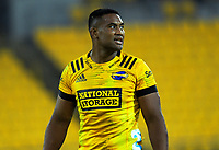 Hurricanes' Julian Savea during the Super Rugby Aotearoa match between the Hurricanes and Chiefs at Sky Stadium in Wellington, New Zealand on Saturday, 20 March 2020. Photo: Dave Lintott / lintottphoto.co.nz