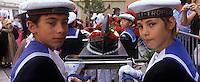 Europe/Provence-Alpes-Côte d'Azur/83/Var/Saint-Tropez: lors des Bravades-Les Bravades sont des processions en l'honneur du Saint Patron de la ville] [Non destiné à un usage publicitaire - Not intended for an advertising use]