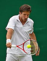 London, England, 28 june, 2016, Tennis, Wimbledon, Igor Sijsling (NED)<br /> Photo: Henk Koster/tennisimages.com