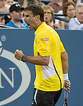 Roger Federer (SUI) Loses to Tommy Robredo (ESP) 7-6, 6-3, 6-4