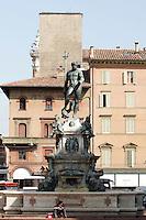 La Fontana del Nettuno a Bologna.<br /> The Fountain of Nettuno in Bologna.<br /> UPDATE IMAGES PRESS/Riccardo De Luca