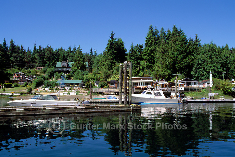 Bamfield, BC, Vancouver Island, British Columbia, Canada - Pacific Rim, West Coast Resort Village in Barkley Sound