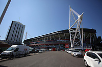 Pictured: The National Stadium of Wales Thursday 25 May 2017<br />
