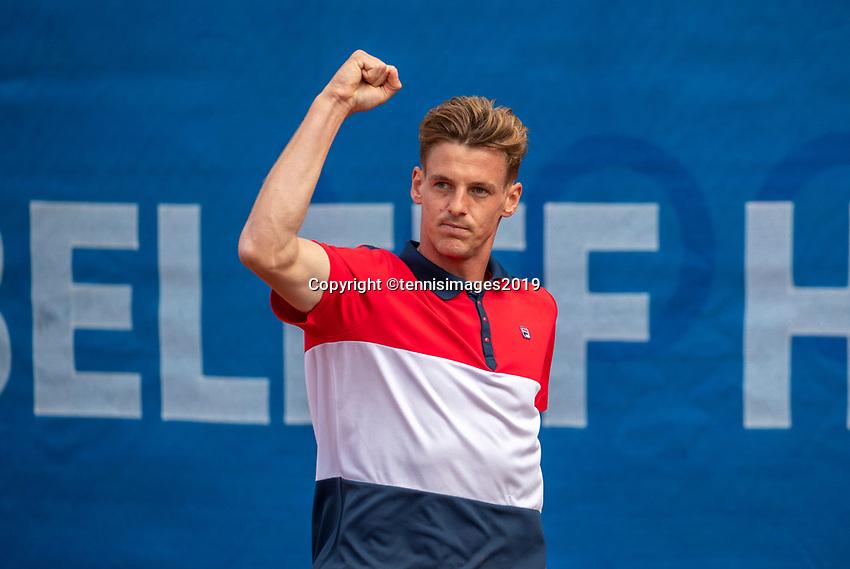 Zandvoort, Netherlands, 8 June, 2019, Tennis, Play-Offs Competition, Jeroen Vanneste <br /> Photo: Henk Koster/tennisimages.com