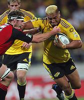 080328 Super Rugby - Hurricanes v Crusaders