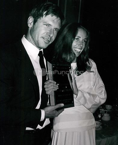 Harrison Ford and Melissa Mathison 1979<br /> Photo By John Barrett-PHOTOlink.net / MediaPunch