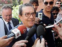 Il magistrato Cesare Ruperto arriva presso il suo studio a Roma, 8 luglio 2010, per ratificare l'accordo tra Italpetroli ed Unicredit..UPDATE IMAGES PRESS/Riccardo De Luca