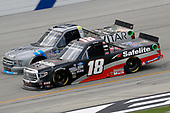 July 11, 2020: #18: Christian Eckes, Kyle Busch Motorsports, Toyota Tundra Safelite AutoGlass  during Buckle Up In Your Truck 225 at Kentucky Speedway in Sparta, KY. (HHP/Harold Hinson)