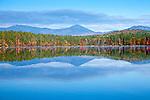 The Sandwich Range over White Lake, White Lake State Park, Tamworth, NH, USA