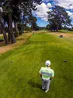 Mitchell Kale. Day one of the Jennian Homes Charles Tour / Brian Green Property Group New Zealand Super 6's at Manawatu Golf Club in Palmerston North, New Zealand on Thursday, 5 March 2020. Photo: Dave Lintott / lintottphoto.co.nz