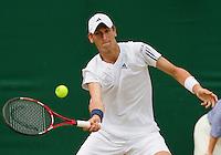 26-06-10, Tennis, England, Wimbledon,  Thiemo de Bakker