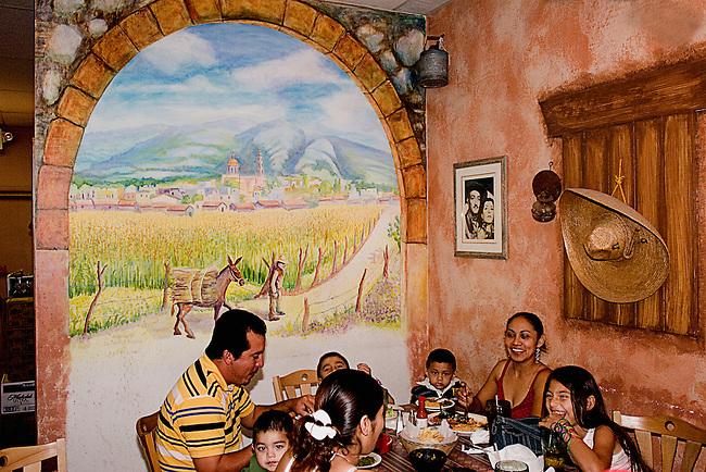 Mexican Family, Taquitos Jalisco Restaurant, Orlando, Florida
