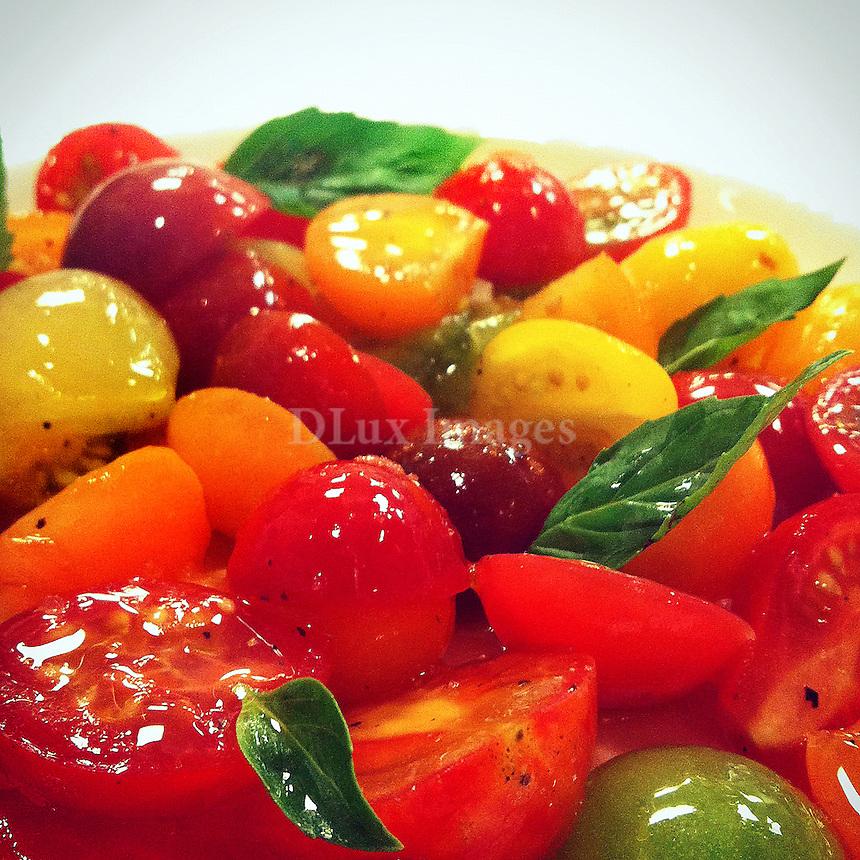 Close up of salad dish