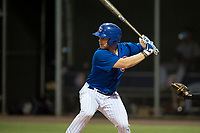 AZL Cubs 1 third baseman Luke Reynolds (16) at bat during an Arizona League game against the AZL Padres 1 at Sloan Park on July 5, 2018 in Mesa, Arizona. The AZL Cubs 1 defeated the AZL Padres 1 3-1. (Zachary Lucy/Four Seam Images)