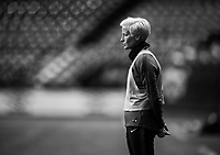 Vancouver, Canada - November 8, 2017: The USWNT trains in preparation for their friendly against Canada at BC Place.Vancouver, Canada - November 8, 2017: The USWNT trains in preparation for their friendly against Canada at BC Place.