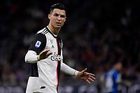 Cristiano Ronaldo of Juventus <br /> Milano 6-10-2019 Stadio Giuseppe Meazza <br /> Football Serie A 2019/2020 <br /> FC Internazionale - Juventus FC <br /> Photo Federico Tardito / Insidefoto