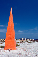 Slave huts Red Slave, Netherland Antilles, Caribbean, Atlantic, Bonaire, Bonaire