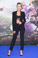 "Kimberley Garner<br /> at the premiere of ""Alice Through the Looking Glass"" held at the Odeon Leicester Square, London<br /> <br /> <br /> ©Ash Knotek  D3117  10/05/2016"