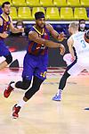 EUROLEAGUE 2020-2021. Playoffs.Game 1.<br /> FC Barcelona vs Zenit St. Petersburg: 74-76.<br /> Brandon Davies.