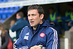 St Johnstone v Hamilton Accies...12.09.15  SPFL McDiarmid Park, Perth<br /> Accies boss Martin Canning<br /> Picture by Graeme Hart.<br /> Copyright Perthshire Picture Agency<br /> Tel: 01738 623350  Mobile: 07990 594431