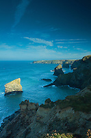 Bedruthan Steps, Carnewas, Cornwall