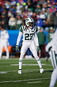 New York Jets Darryl Roberts (27) during an NFL football game against the Buffalo Bills, Sunday, December 9, 2018, in Orchard Park, N.Y.  (Mike Janes Photography)