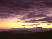 Sunset from the Blue Ridge Parkway