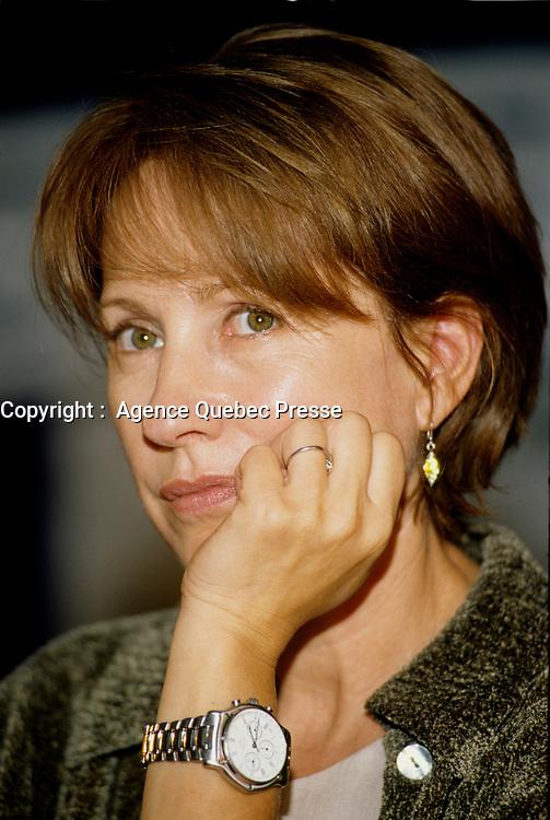 Montreal (Qc) CANADA -1998 File Photo -<br /> Nathalie Baye, Jury  press conference,