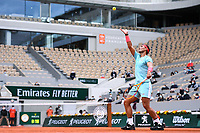 Rafael NADAL of Spain during the day four of the Tennis French Open on September 30, 2020 in Paris, France. (Photo by Baptiste Fernandez/Icon Sport) - Rafael NADAL - Roland Garros - Paris (France)