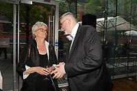 Thierry Arnaud, President de la Chambre de Commerce LGBT du Quebec, au Gala Phenicia 2018, le jeudi 31 mai 2018, au Parquet de la Caisse de Depot et Placements du Quebec<br /> <br /> PHOTO : Agence Quebec Presse